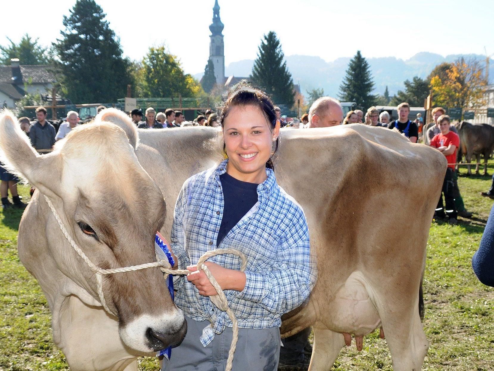 Viehausstellung in Höchst mit 100-Jahr-Jubiläum des Viehzuchtvereins am 18. Oktober