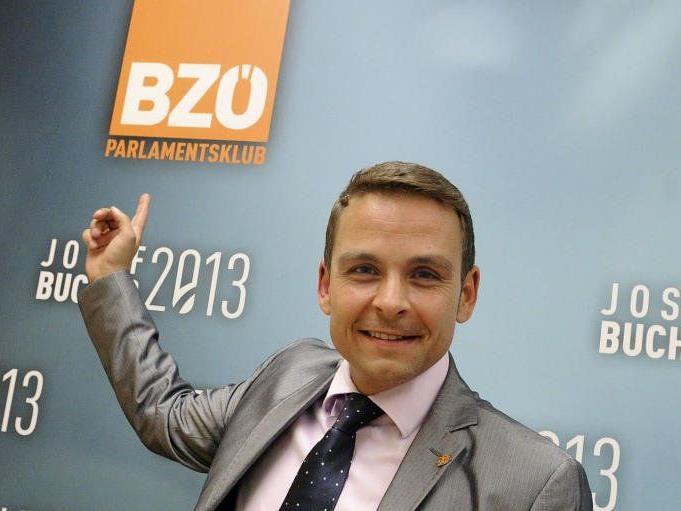 Neuer BZÖ-Bundesobmann Gerald Grosz .