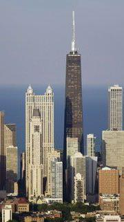 Chicago wird fünfmal pro Woche angeflogen.