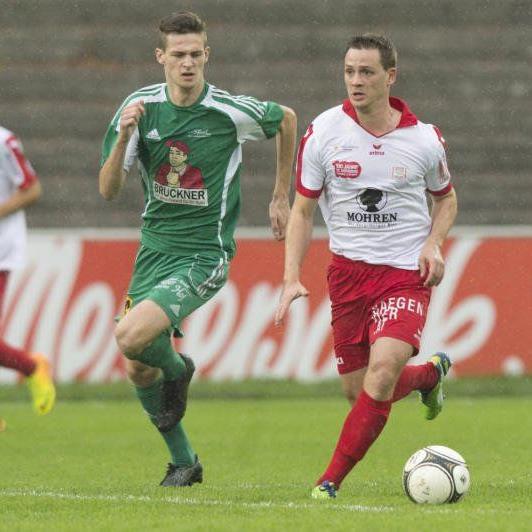 Stephan Kirchmann spielt schon zum zweiten Mal in seiner aktiven Karriere für den FC Dornbirn.