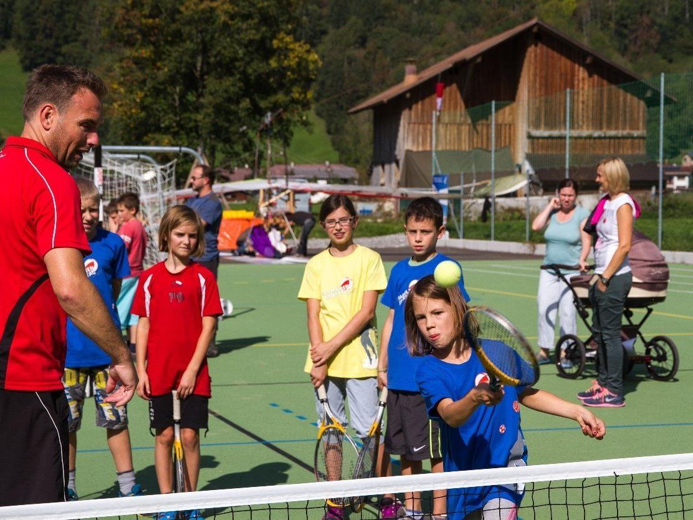Viel Spaß beim Sporttag in Bezau