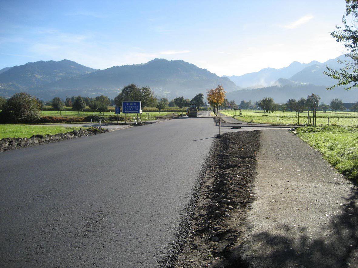 Der Autobahnanschluss Rankweil ist ab Freitag mittag wieder offen.