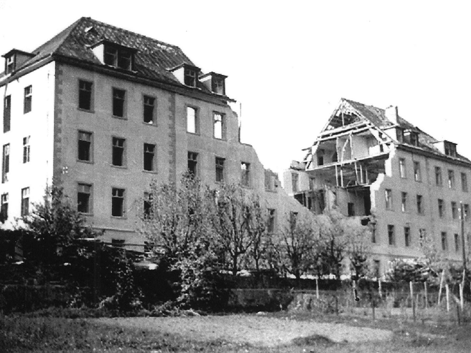 """Feldkirch war """"Gelegenheitsziel"""" für amerikanische Bomber - mit verheerenden Folgen."""