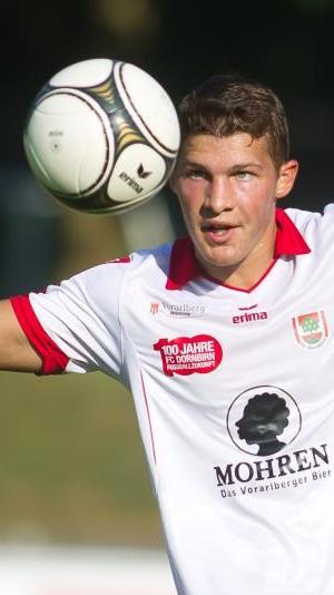 Christoph Domig hofft mit Dornbirn auf einen Heimsieg im Kellerduell gegen Schlusslicht Wals/Grünau.