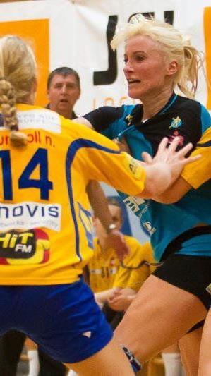 Martina Strmsek warf elf Tore im Heimspiel gegen Stockerau und zählte zu den Aktivposten.