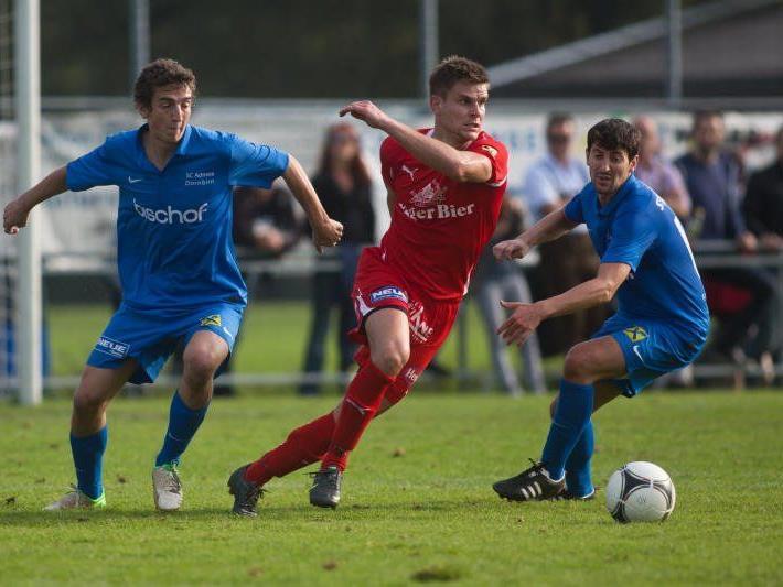 FC Egg-Stürmer und Torjäger Steven Nenning trifft am Sonntag mit seinen Kollegen auf Röthis.