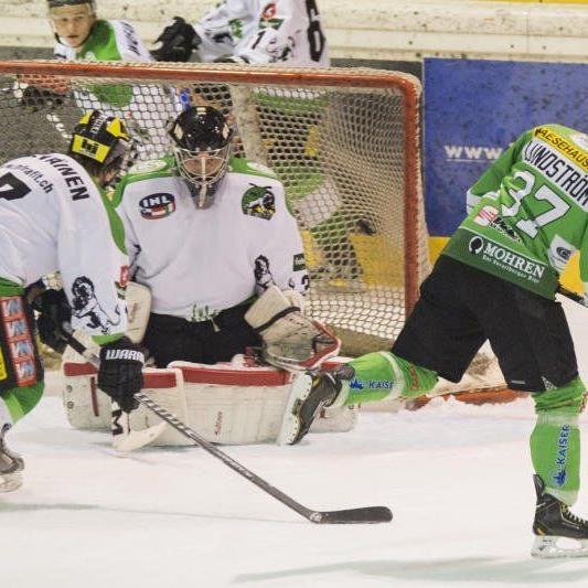 Toni Saarinen schoss beim 7:0-Heimsieg der Lustenauer gegen Bled zwei Treffer.