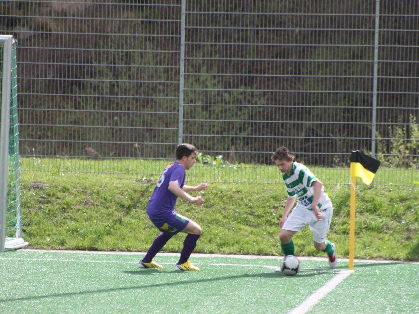 Der SV Gaschurn und der FC Klostertal trennen sich 3:3