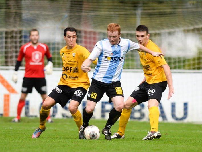 Hard-Stürmer Herbert Sutter wünscht sich im Heimspiel gegen Austria Salzburg drei Punkte.