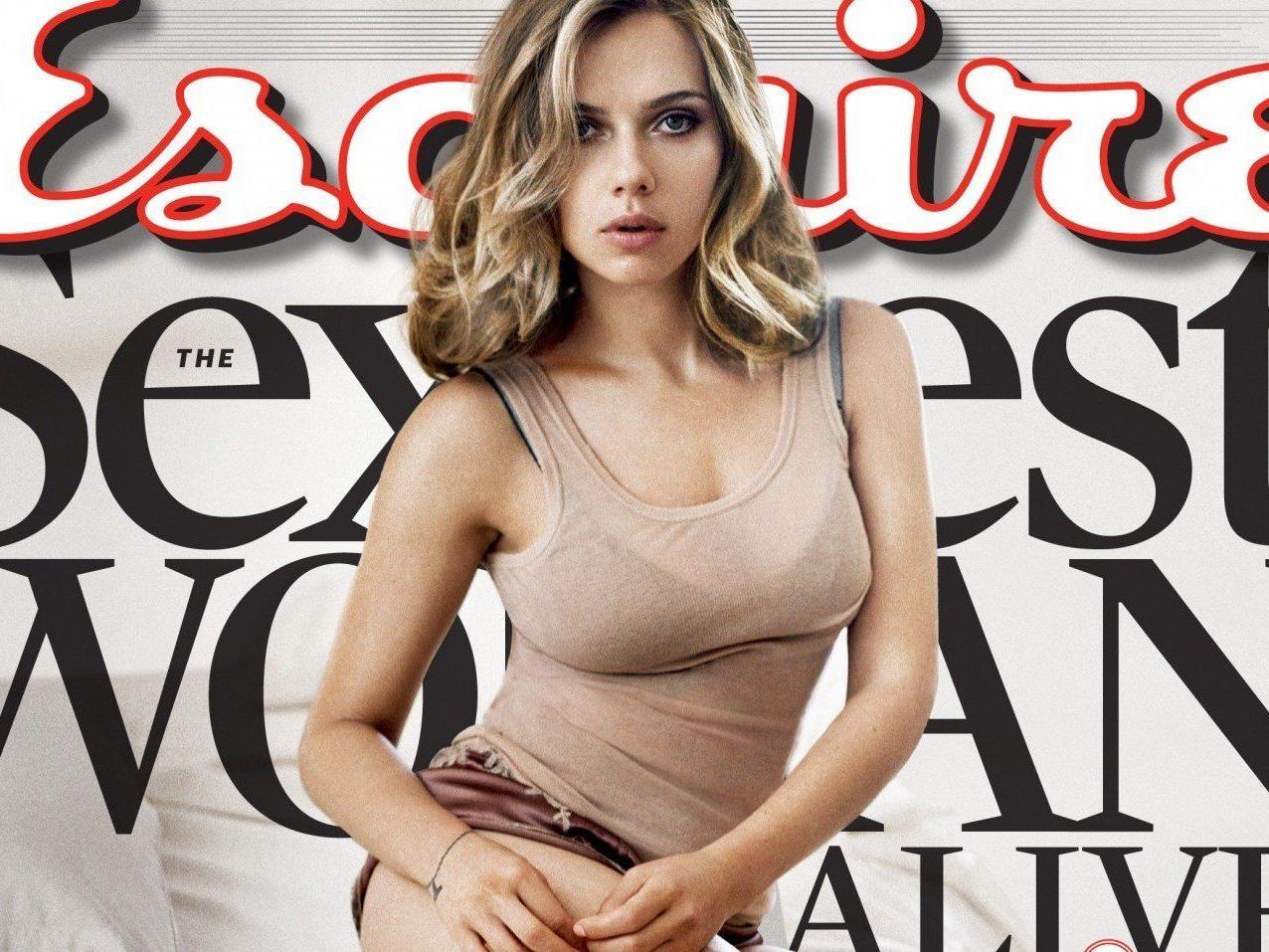 """Johansson von US-Magazin """"Esquire"""" gekürt."""