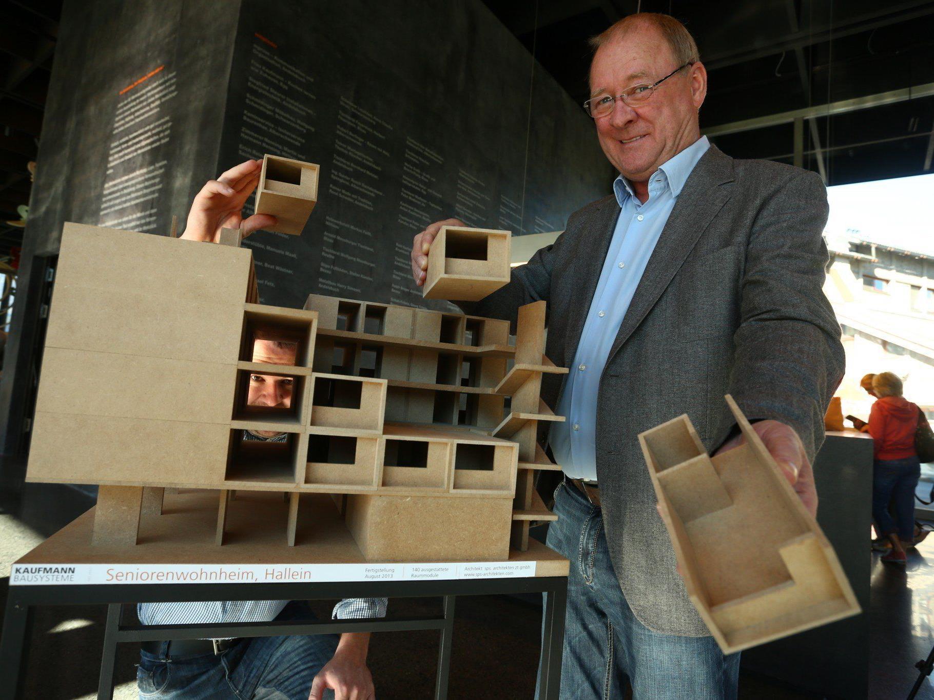 Der Motor und Gründungsobmann des Werkraum Bregenzerwald ist der KMU-Preisträger des Jahres 2013