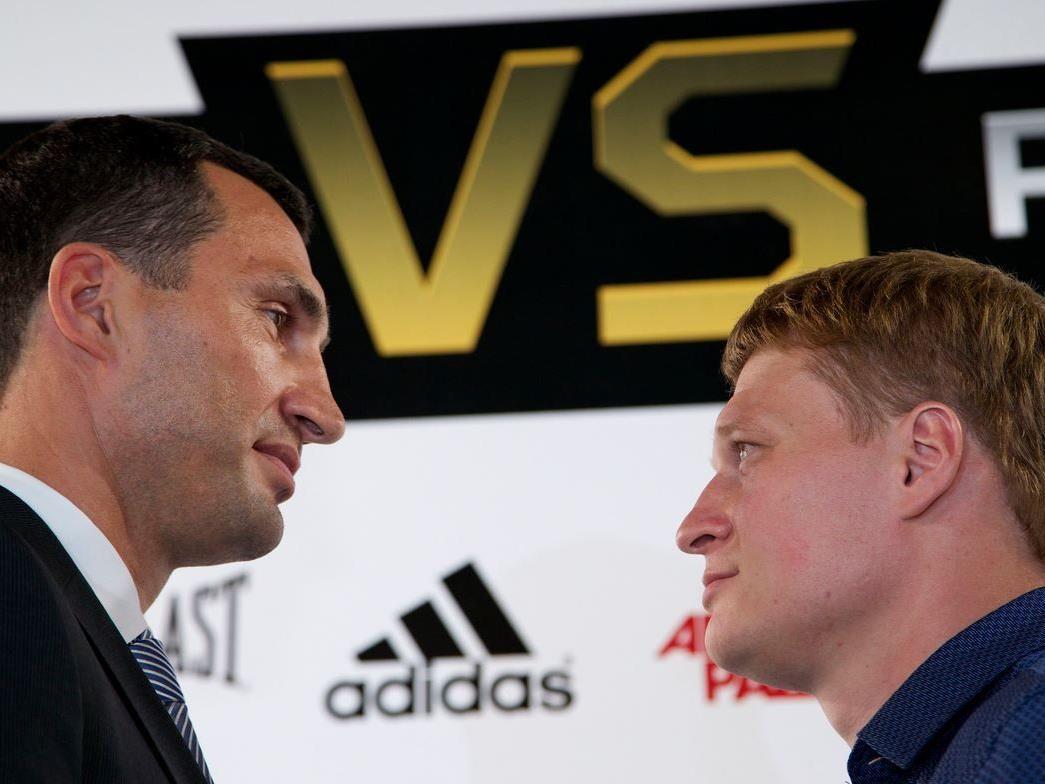 Der Boxkampf des Jahres zwischen Klitschko und Povetkin.