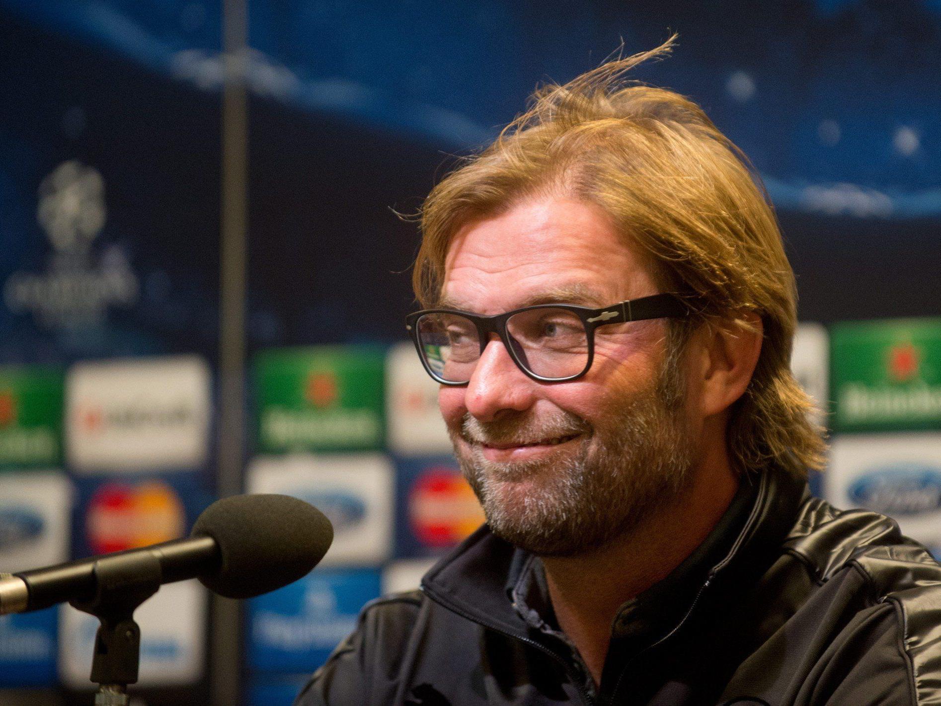 Hat gut grinsen: Klopp bleibt bis 2018 beim BVB.