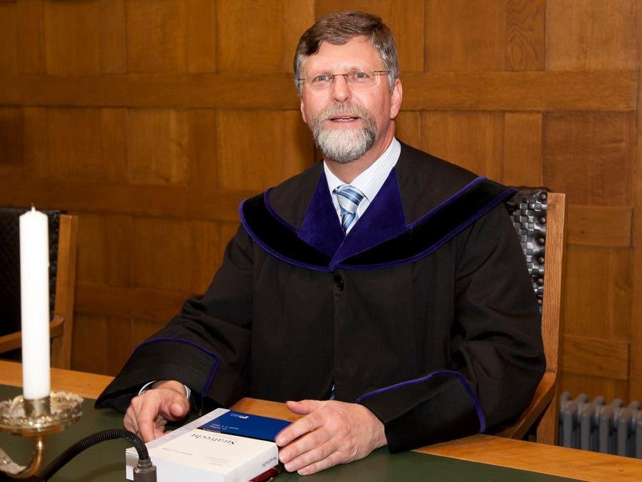 Richter Ohtmar Kraft am Landesgericht in Feldkirch.