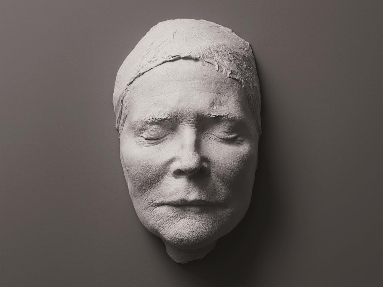 Lebensmaske von Christiane Hörbiger