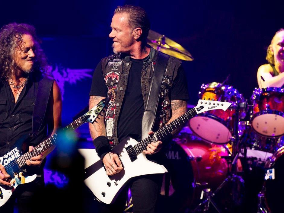 3D Film: Metallica sind immer wieder für eine Überraschung gut.