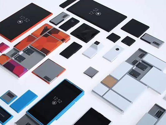 Motorola tüftelt an Baukasten-Smartphone.