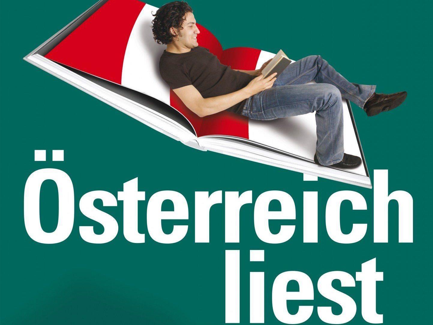 Ausgewählte Veranstaltungen der Bücherei Muntlix im Oktober zum Österreichischen Literaturfestival.
