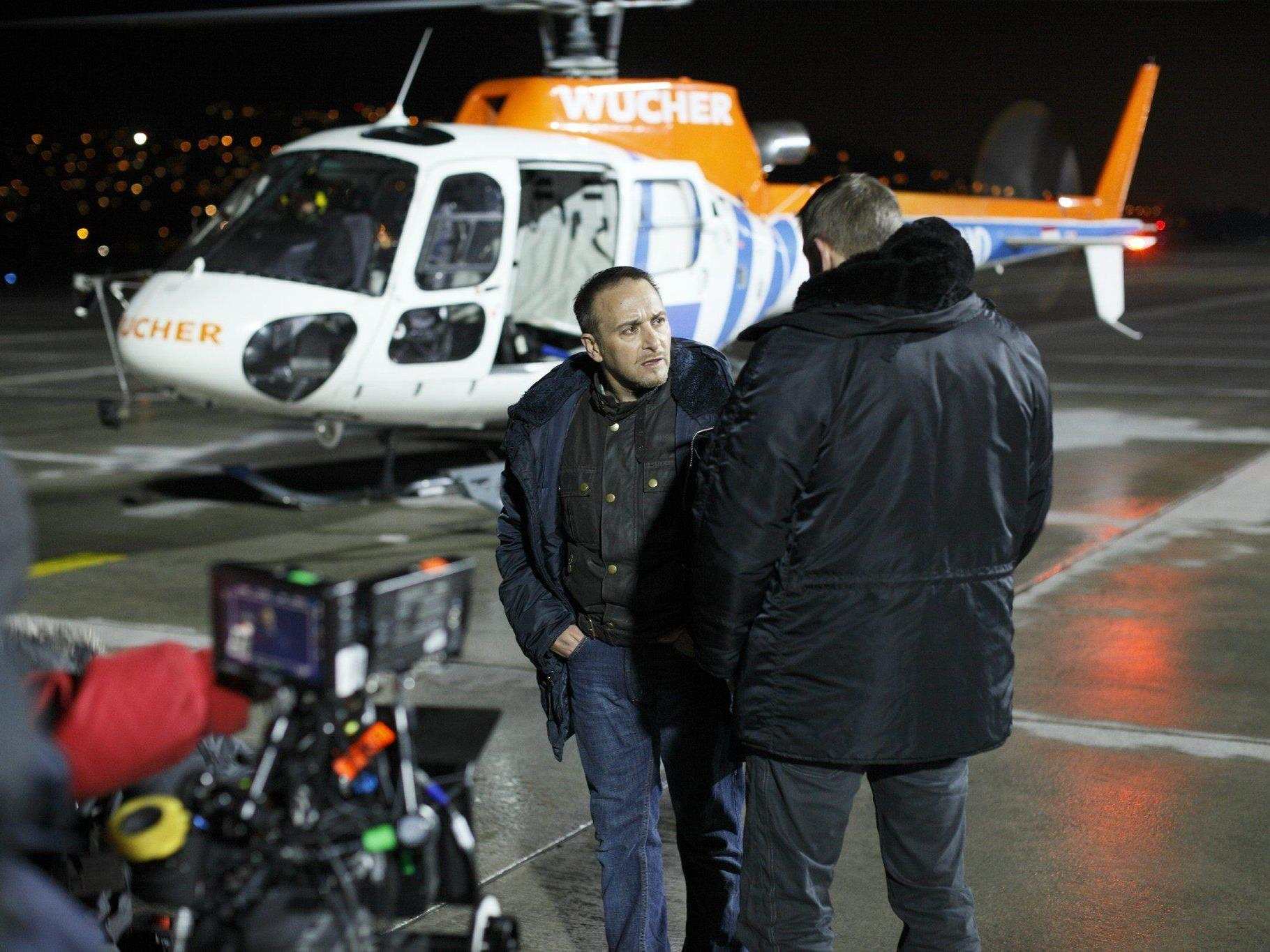 """Für die Serie """"Alarm für Cobra 11"""" sind gleich drei Helikopter von Wucher im Einsatz."""
