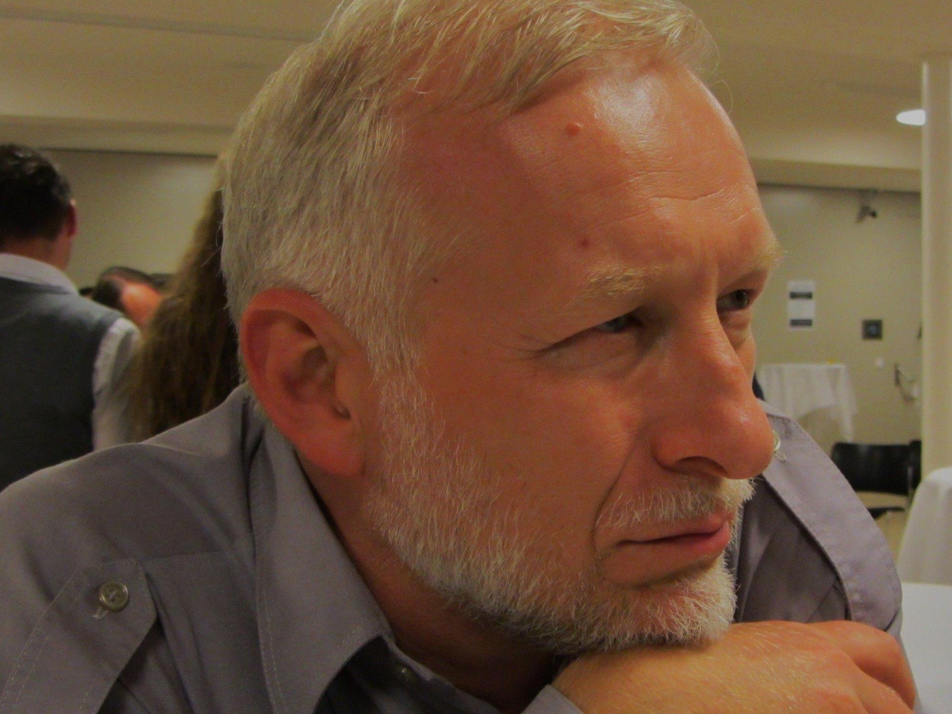 IT-Experte Sergiy Yakovlyev aus der Ukraine liebt die russische Literatur.