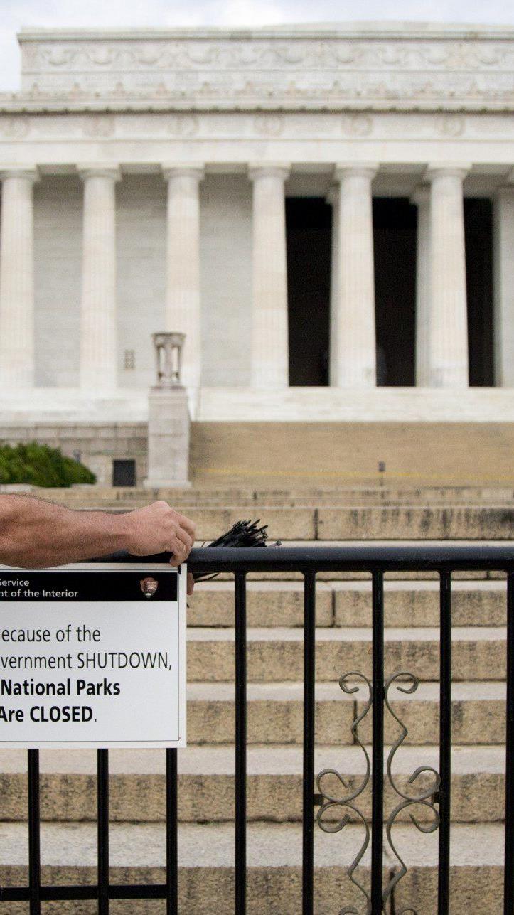 US-Budgetstreit eskaliert - eine Weltmacht steht still.