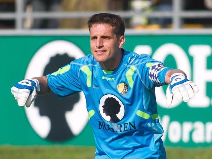 Höchst-Goalie Mathias Nagel wurde zum zweiten Mal Vater.