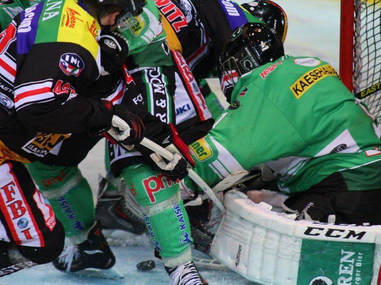 Feldkirch verlor das Prestigeduell gegen den Meister Bregenzerwald im Penaltyschießen.