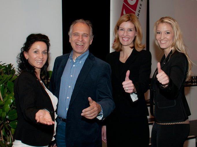 Evelyn Dorn und Karin Furtner sorgten beim Unternehmerinnenforum in Rankweil für einen professionellen Ablauf.