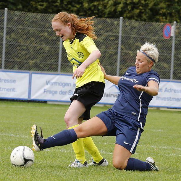 FFC Vorderland Spielerin Hanna Weiss will mit ihren Kolleginnen den Klassenerhalt schaffen.