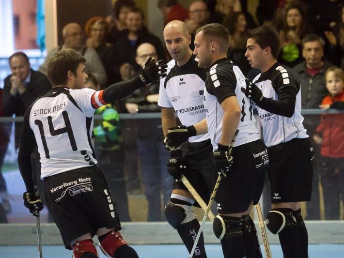 RHC Dornbirn gewann das Derby in Wolfurt trotz zweimaligen Rückstand noch mit 5:2.