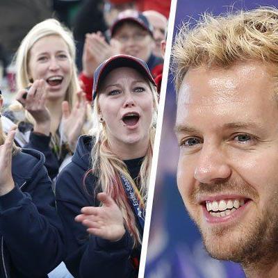 Red-Bull-Pilot Vettel zum vierten Mal in Serie Weltmeister.