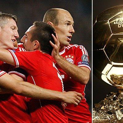 Sechs Spieler von Bayern München haben ein Auge auf den Ballon d´ Or geworfen.
