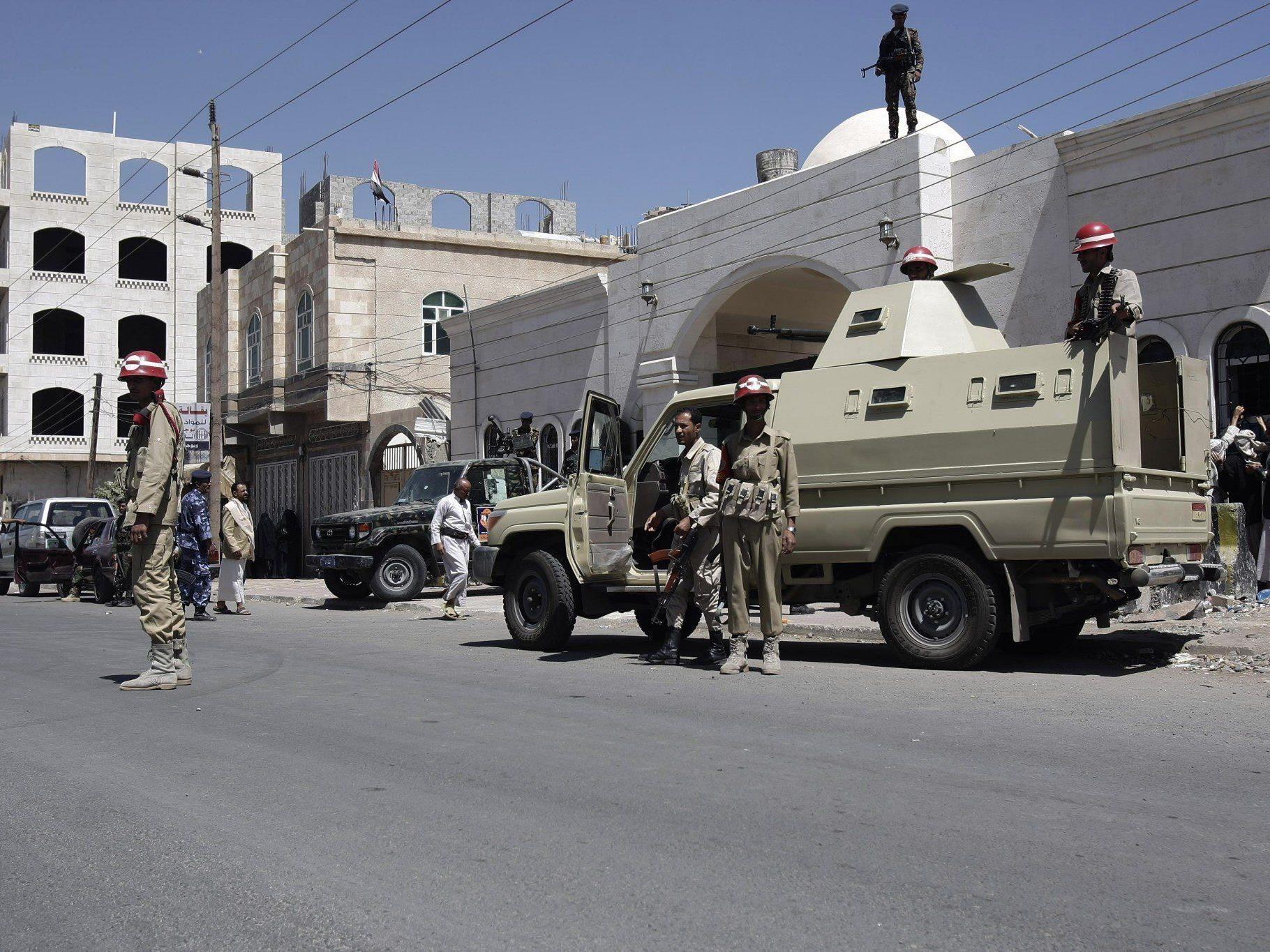 Die Bedrohungslage gegen westliche Diplomaten im Jemen ist hoch.