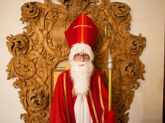 Der Nikolaus der Dompfarre (© Dompfarre)