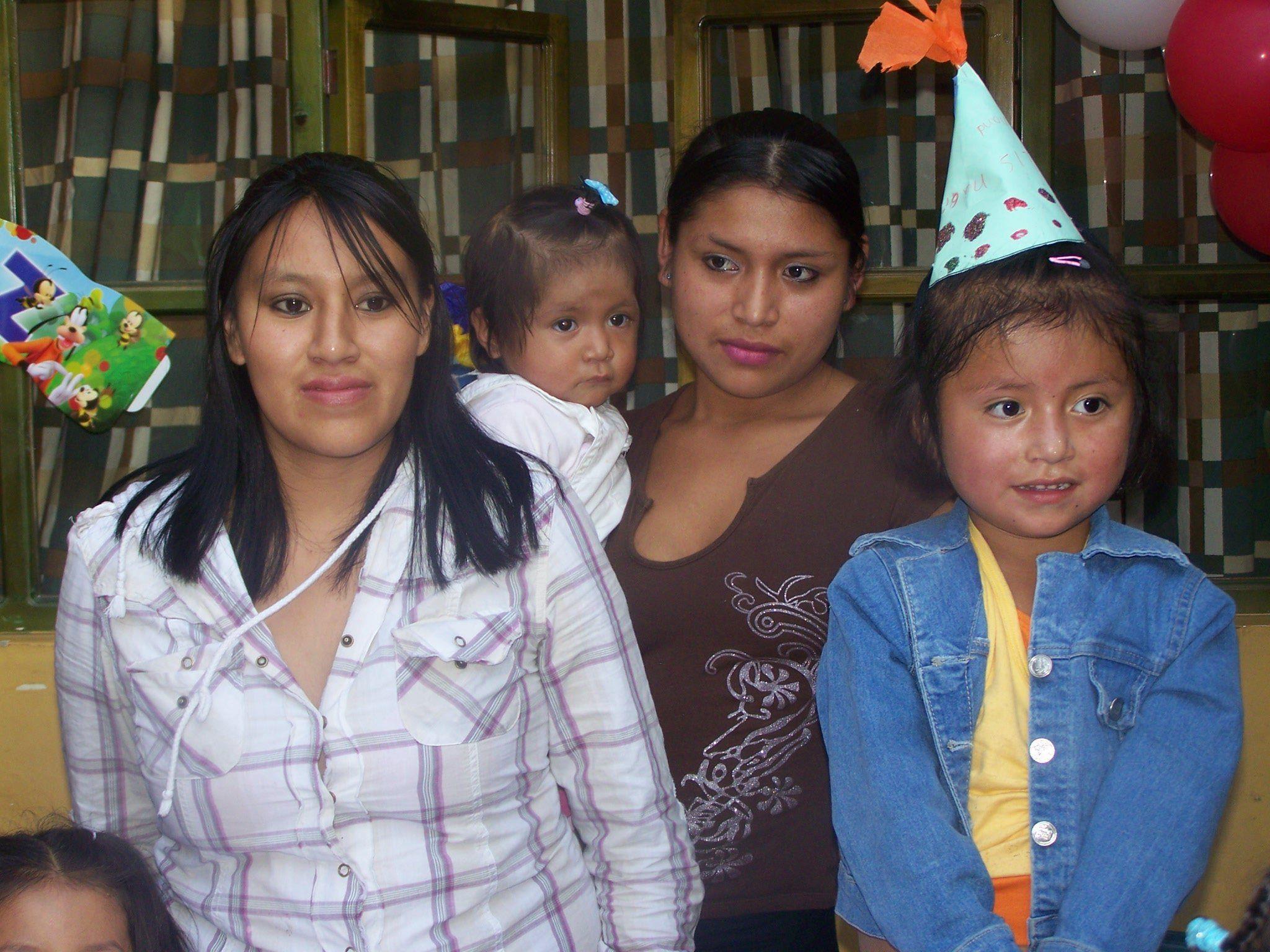 """Das Frauenhaus """"Casa Maria Amor"""" in Ecuador bietet Schutz und ein Zuhause."""
