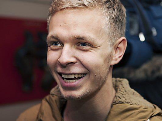 Neo-Mercedes-Fahrer Kevin Magnussen hat gut lachen