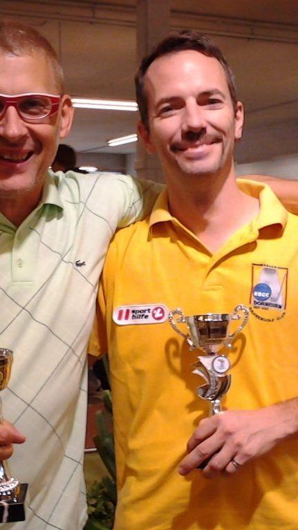 Günter Inmann hat den 30 Stunden Marathon Kloten mit seinem Partner gewonnen.