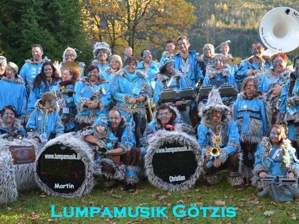 Lumpamusik Götzis am 11.11.2013