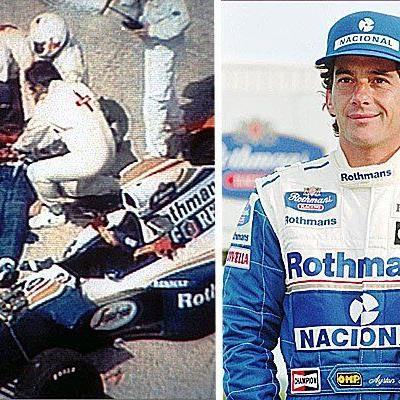 Ayrton Senna war ein brasilianischer Formel1-Fahrer, der 1994 bei einem Rennen tödlich verunglückte.