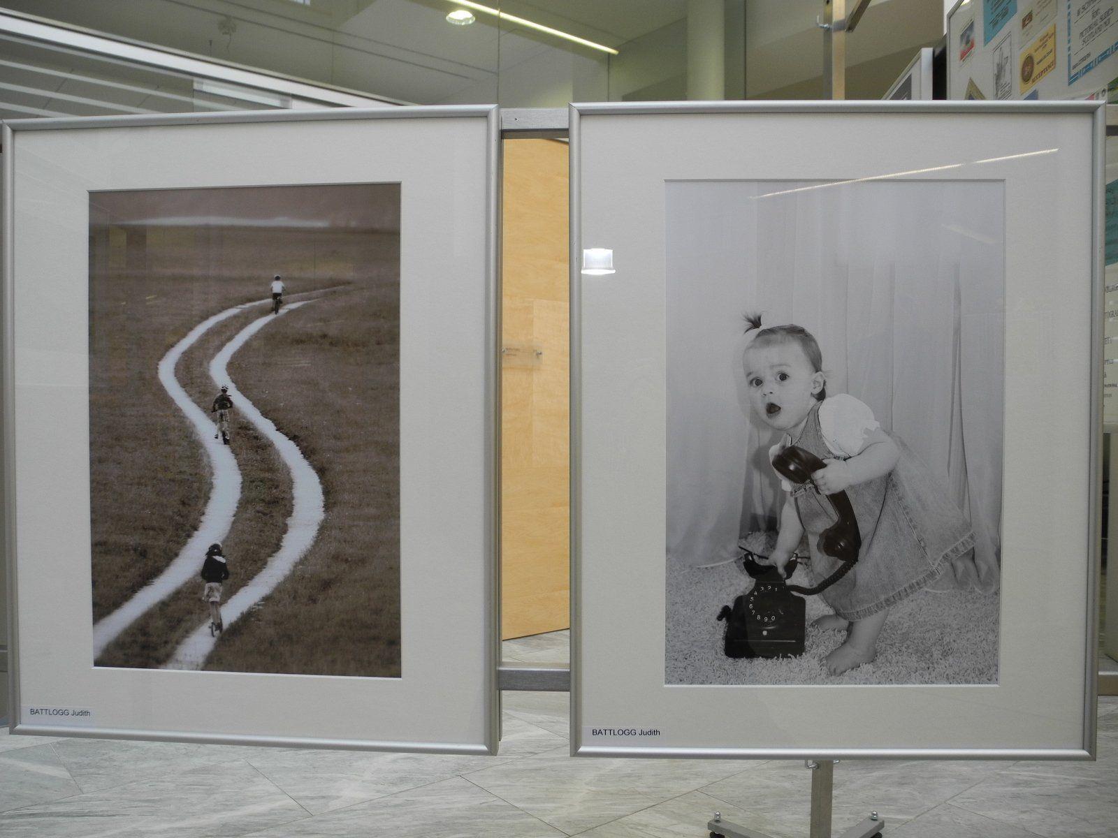 """Wunderschöne Bilder von """"damals - heute"""" sind in der Sparkasse Feldkirch zu bewundern."""