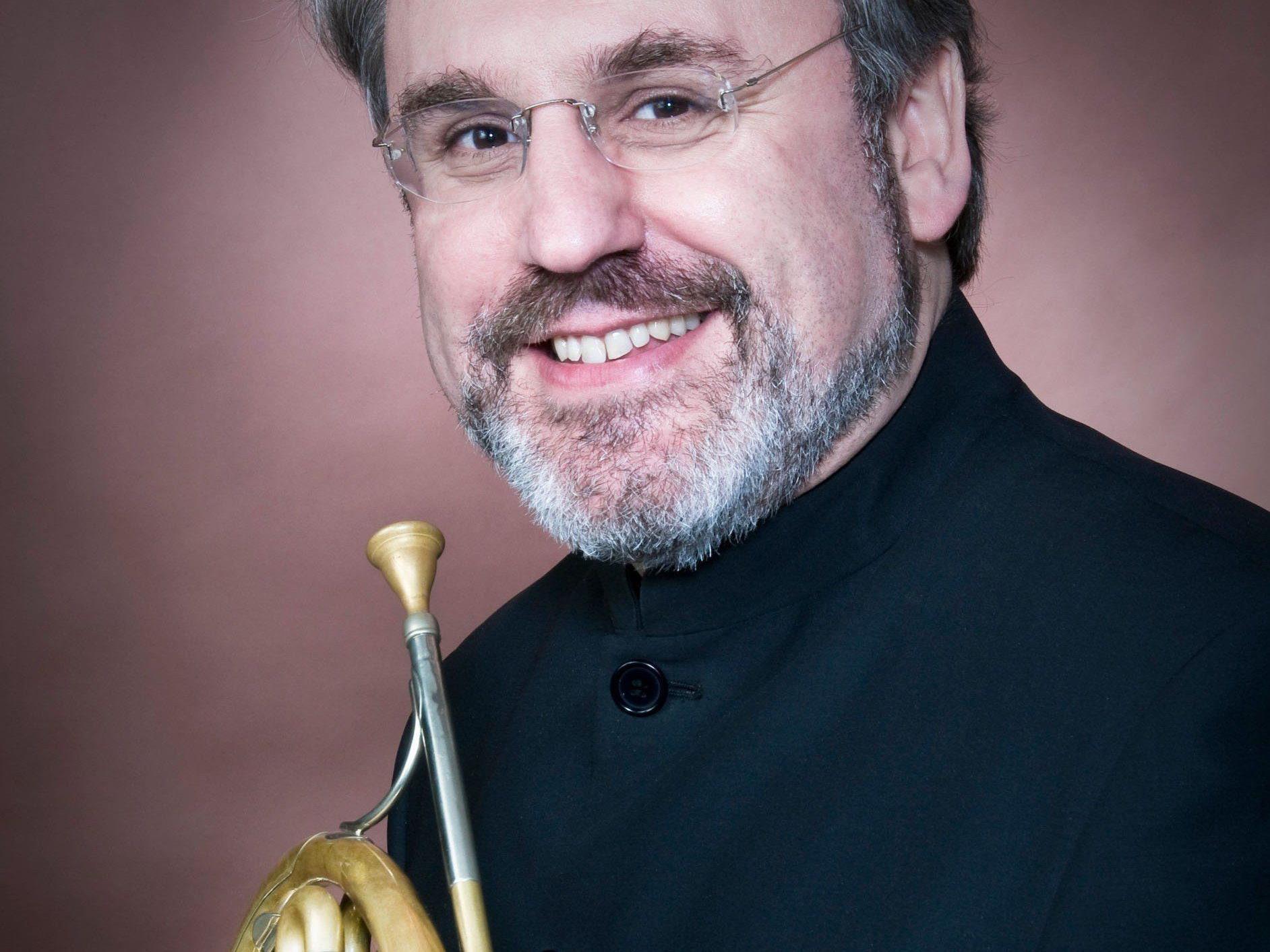 Der weltberühmte Hornist Radovan Vlatkovic gastierte bei SOL im SAL.
