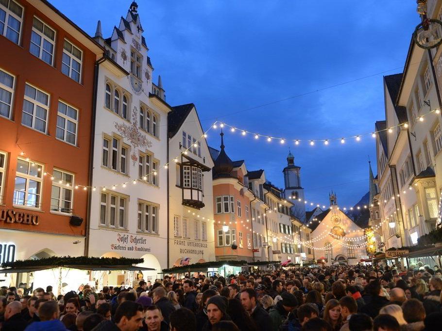 Blosengelmarkt in Feldkirch am 22. und 23. November, jeweils von 10 bis 19 Uhr.