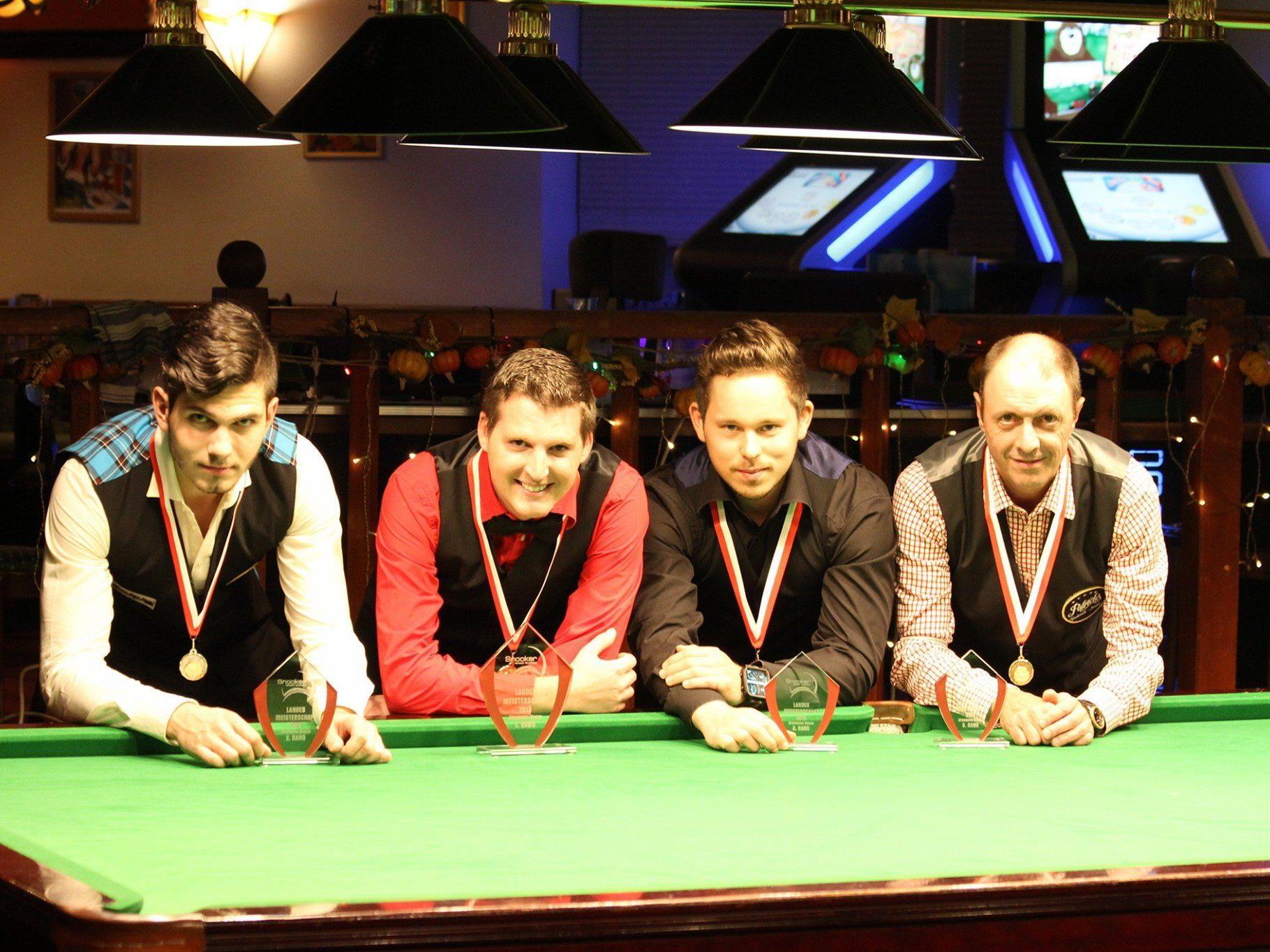 Die neuen Snooker-Landesmeister wurden im Rankweiler Patricks gekürt.
