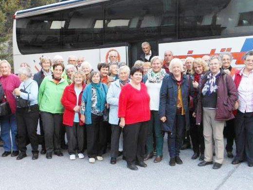 Jubiläumsfahrt des Seniorenbundes Sulz- Röthis