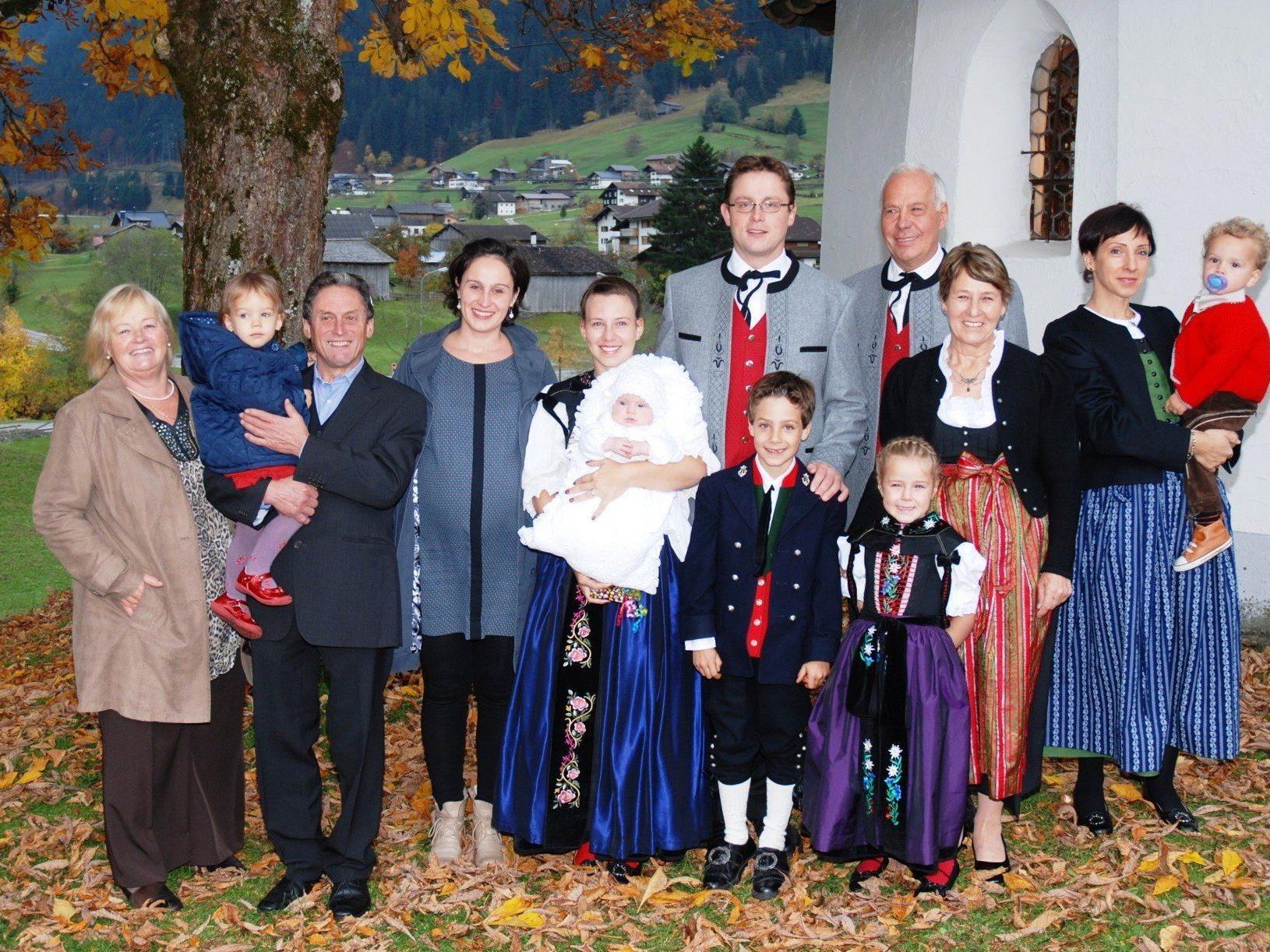 Taufe von Madeleine Katharina aus Gaschurn