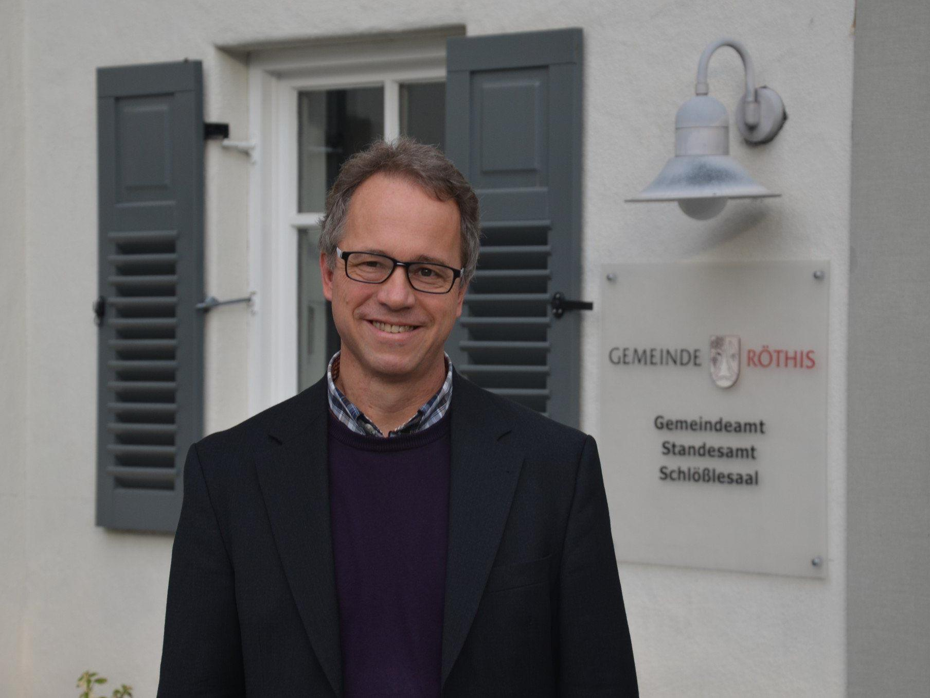 Roman Kopf ab Jänner der neue Bürgermeister von Röthis