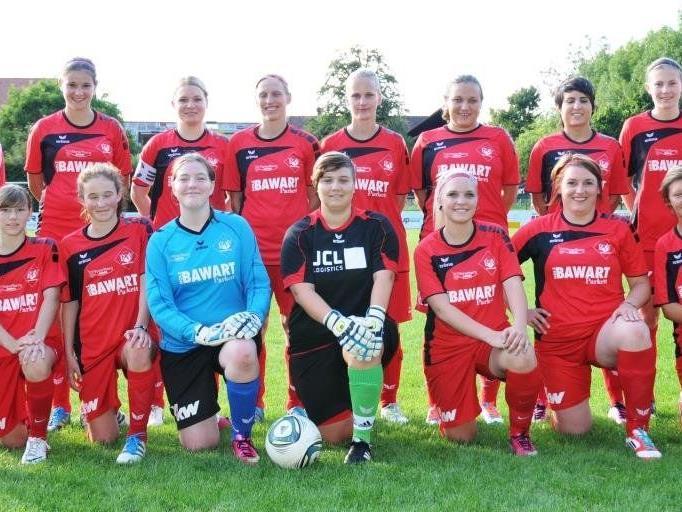 Hochverdienter Halbzeittitel für die 1b-Frauenmannschaft des FC RW Rankweil.
