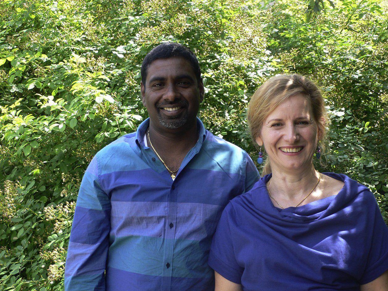 """""""Yaal Suvai"""" nennt sich die tamilische Kochkunst und das Catering von Maria Rodewald und Chandrakumar Thiyagarajah"""