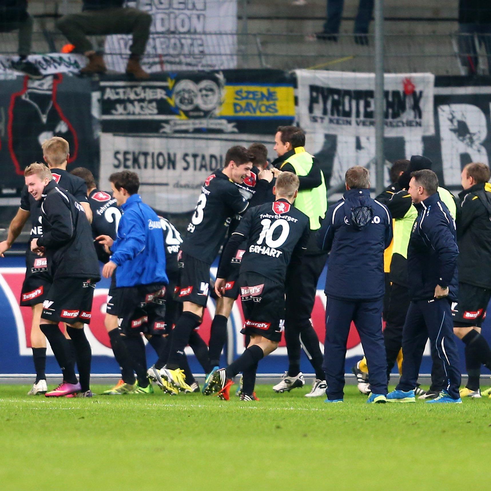 Nach 1:1 beim FC Liefering: Altach überwintert in Erste Liga mit fünf Zählern Vorsprung.