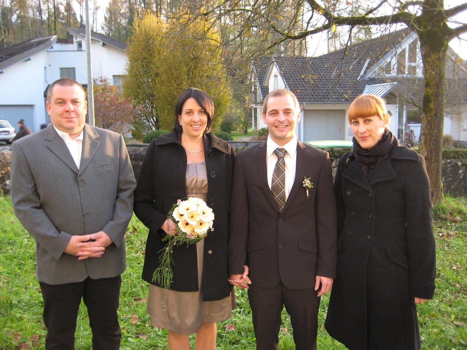 Kerstin Ganath und Mathias Kopf haben geheiratet.